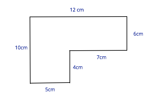 Perimeter of a compound shape