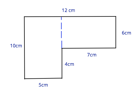 Area of a compound shape