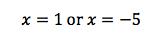 Solving quadratic equation