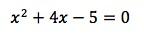 Quadratic equation example 1