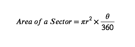 Area of a sector formula