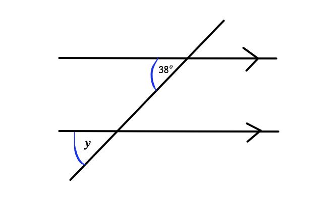 corresponding angle Q