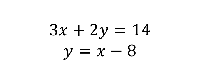Simultaneous equation 4