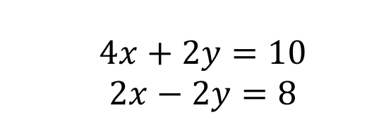 Simultaneous Equation 2
