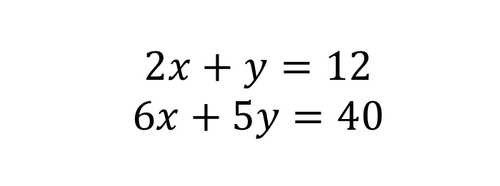 Simultaneous equation 3