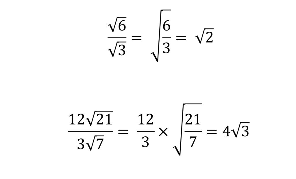 Surds for GCSE maths